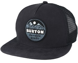 Marble Head True Black Trucker Snapback - Burton
