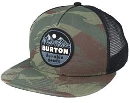 Marble Head Camo Trucker Snapback - Burton