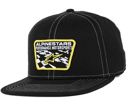 Salty Black Snapback - Alpinestars