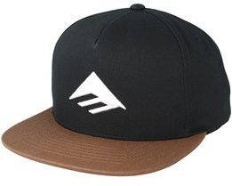 Triangle Black/Brown Snapback - Emerica