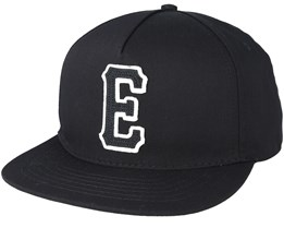 E-Staple Black Snapback - Etnies