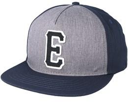 E-Staple Grey/Blue Snapback - Etnies
