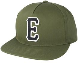 E-Staple Olive Snapback - Etnies