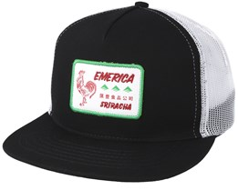 Spot Trucker Black Snapback - Emerica