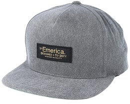 Defy Grey/Heather Snapback - Emerica