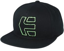 Sktech Icon Black Snapback - Etnies