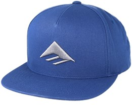 Triangle Harbor Blue Snapback - Emerica