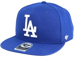 Los Angeles Dodgers No Shot Royal Snapback - 47 Brand