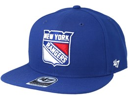 New York Rangers Sure Shot Royal Snapback - 47 Brand