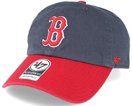 Boston Red Sox 2 Tone Clean Up Navy/red Adjustable - 47 Brand