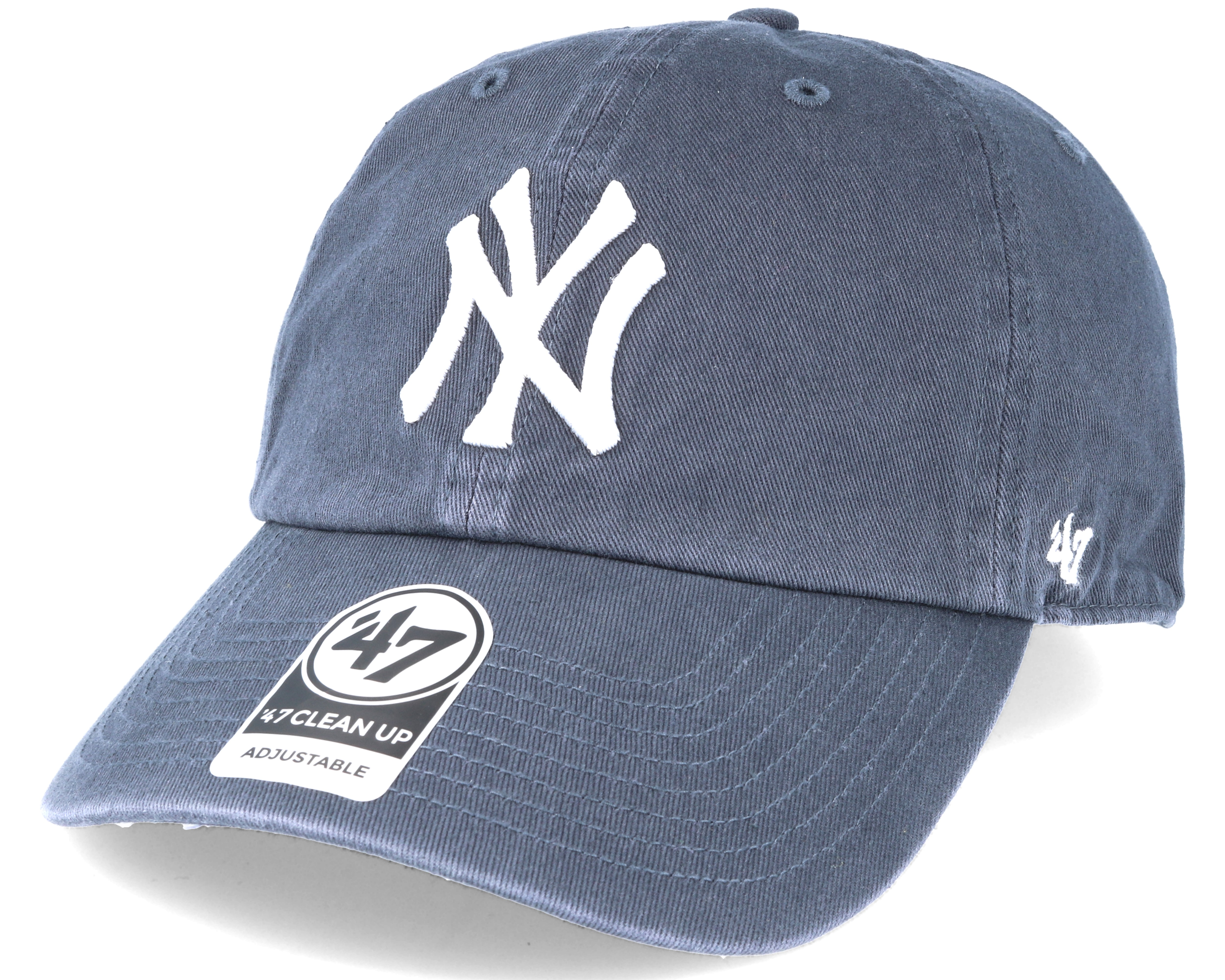 7b26802bd7d New York Yankees Clean Up Navy Adjustable - 47 Brand caps