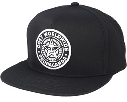 Classic Patch Black Snapback - Obey