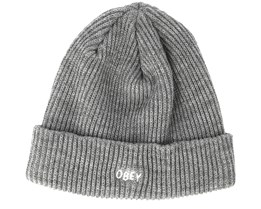 Hangman Heather Grey Beanie - Obey