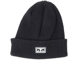 Subversion Black Beanie - Obey