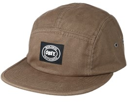 Inset 5 Panel Army Strapback - Obey