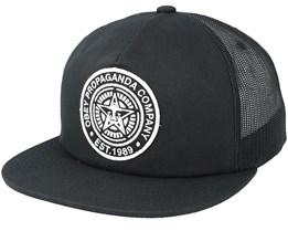 Established 89 Trucker II Black Snapback - Obey