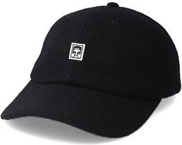 Eighty Nine 6 Panel Black Adjustable - Obey