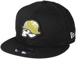 Veteran Black Snapback - Metal Mulisha