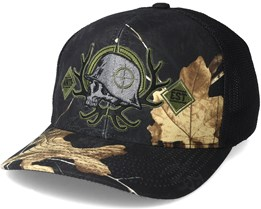 Silence Trucker Black Flexfit - Metal Mulisha