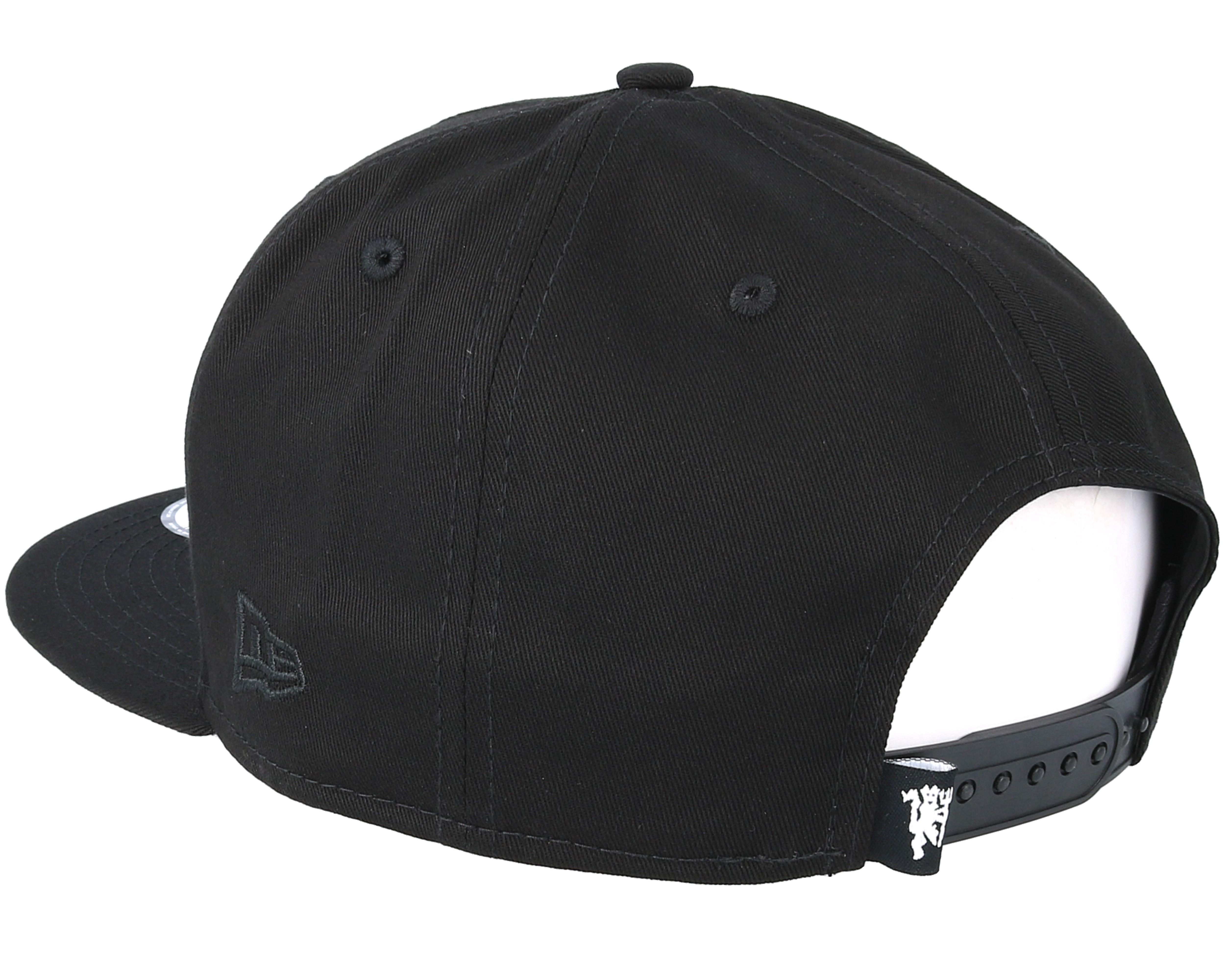best service 1db51 f9c1d Manchester United Bob Devil Black Snapback - New Era caps   Hatstore ...