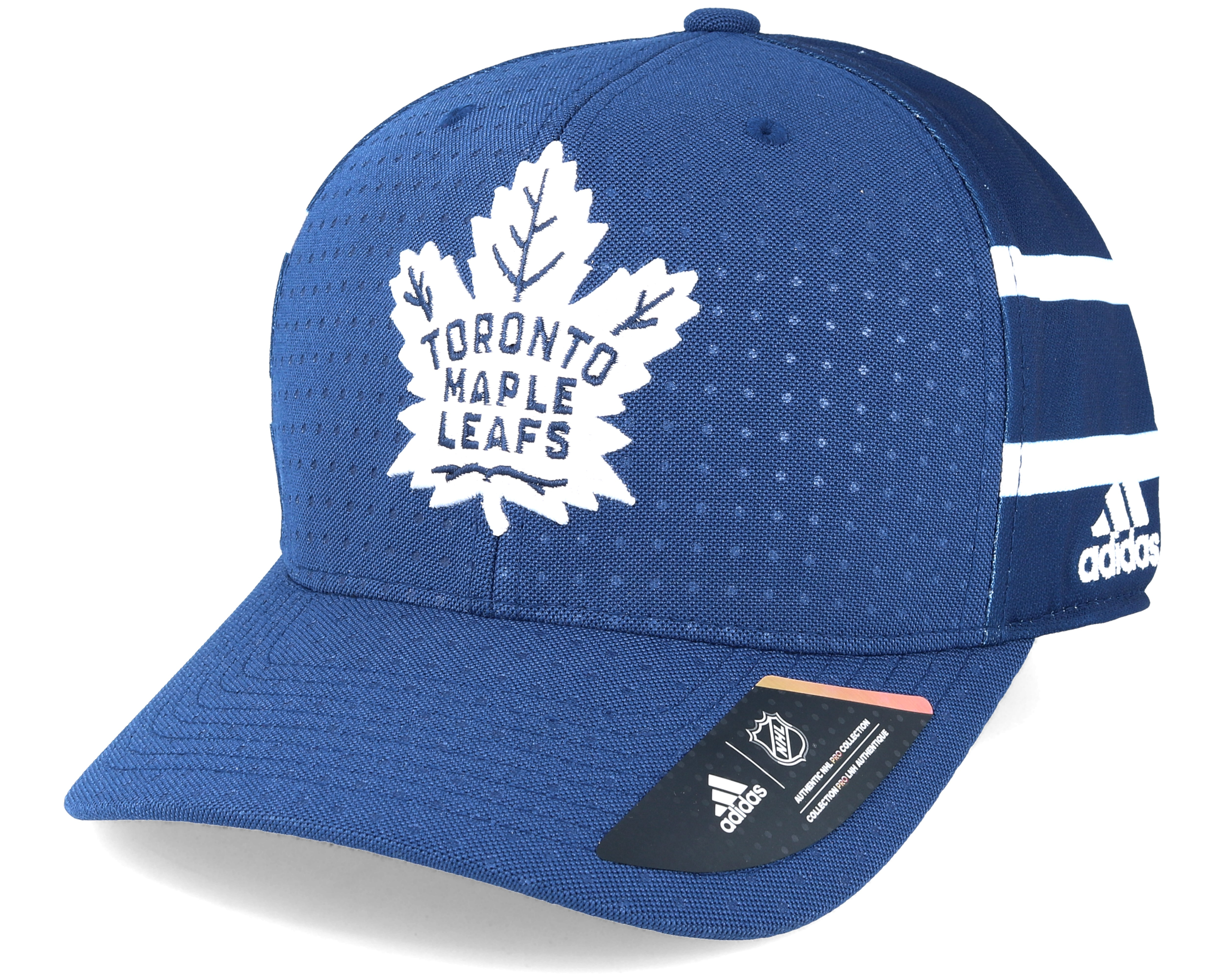 Toronto Maple Leafs Draft Structured Blue Flexfit Adidas