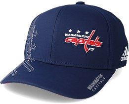 Washington Capitals Second Season Structured Navy Flexfit - Adidas