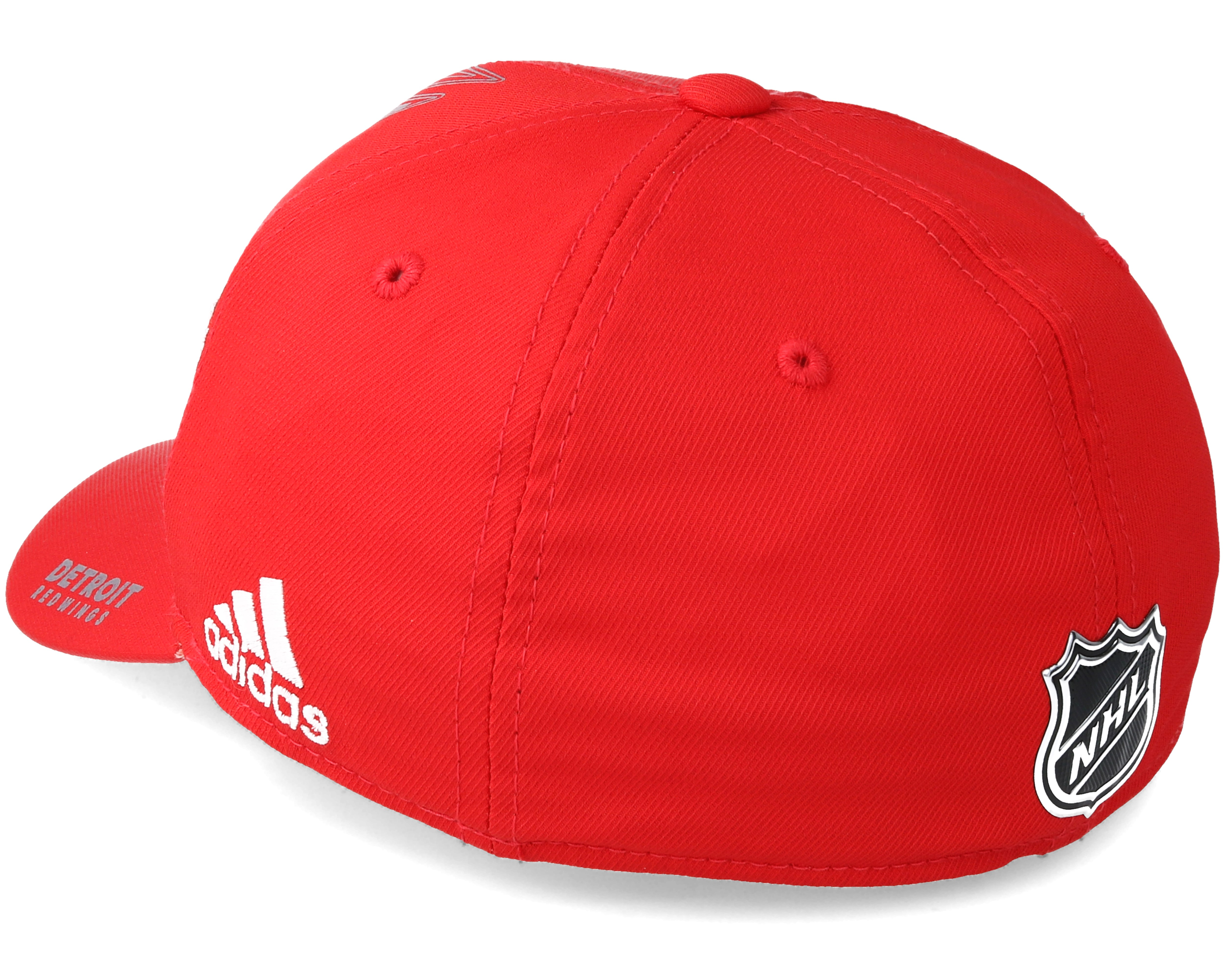 Detroit Red Wings Second Season Structured Red Flexfit - Adidas caps ... a5ead534fc2e
