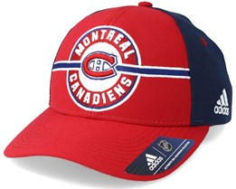 Montreal Canadiens Strucured Red/Navy Adjustable - Adidas