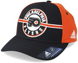 Philadelphia Flyers Strucured Black/Orange Adjustable - Adidas