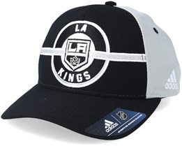 Los Angeles Kings Strucured Black/Grey Adjustable - Adidas