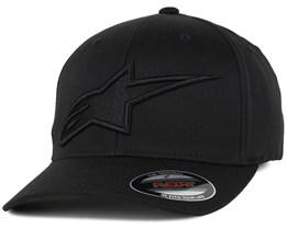 Astar Logo Black/Black Flexfit - Alpinestars