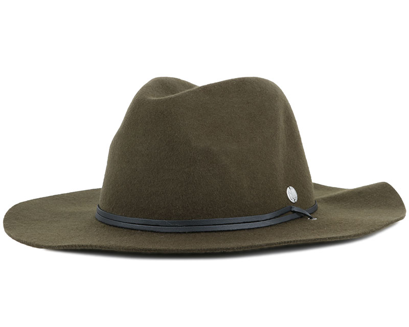 The Lee Olive Trilby - Coal hats  fc91daca5d4