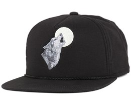 The Lore Black Snapback - Coal