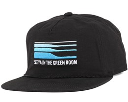 The Great Outdoors Black Strapback - Coal