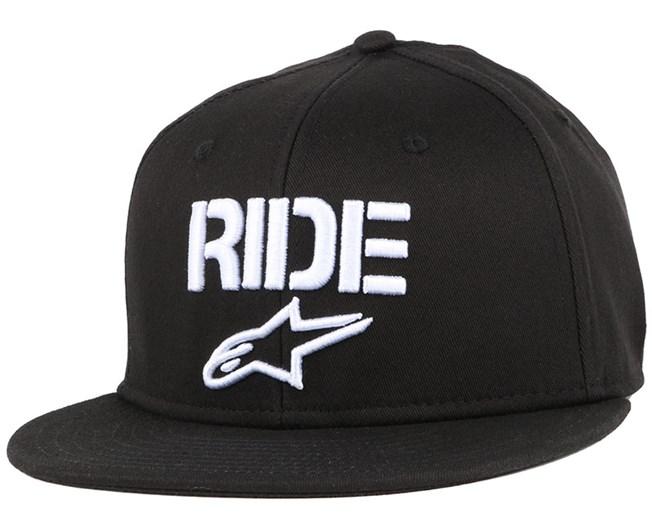 Ride Flat Black Fitted - Alpinestars
