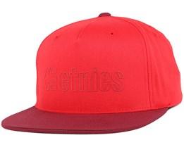 Corporate 5 Red Snapback - Etnies