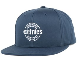 Logo Navy Snapback - Etnies