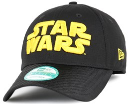 Star Wars Word Black 940 Adjustable - New Era