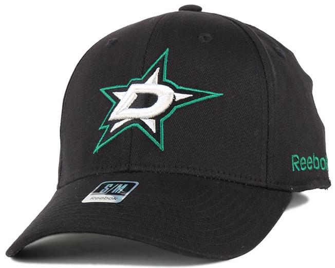 Dallas Stars BL Black Flexfit - Reebok