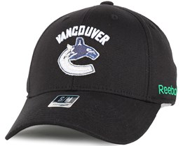 Vancouver Canucks BL Black Flexfit - Reebok