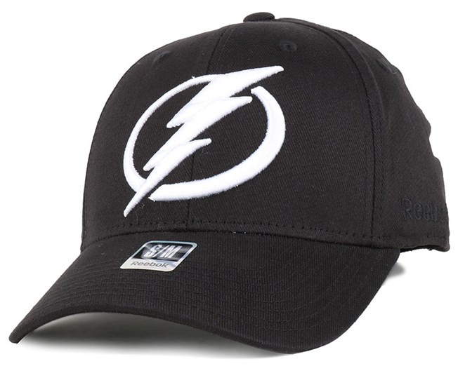 Tampa Bay Lightning BL Black Flexfit - Reebok