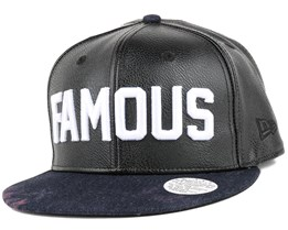 No. 1 Marble Black Snapback - Famous S&S