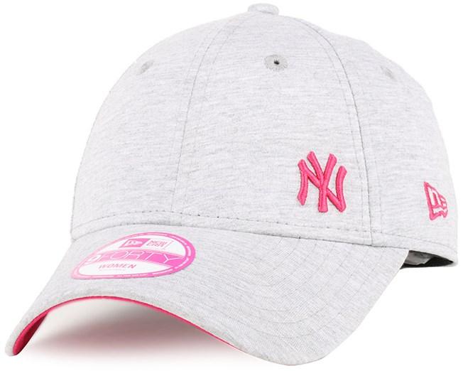 NY Yankees Flawless Fleck Woman Graphite Bright Red 940 - New Era ... 17b7b07208fb