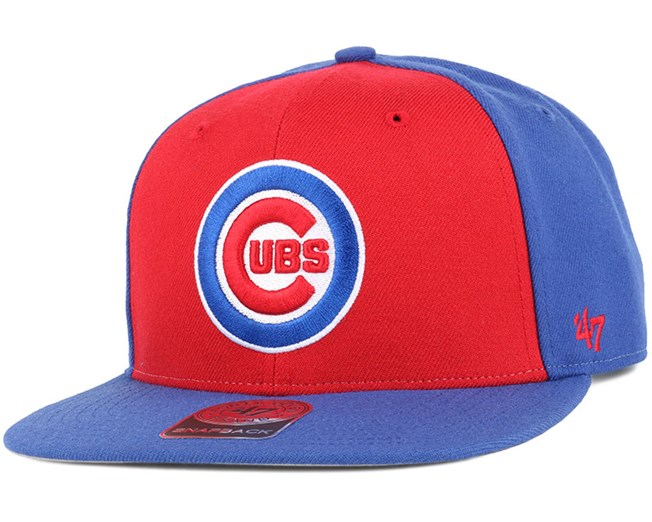 Chicago Cubs Sure Shot Accent Royal Snapback - 47 Brand