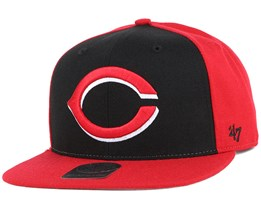 Cincinnati Reds Sure Shot Accent Red Snapback - 47 Brand