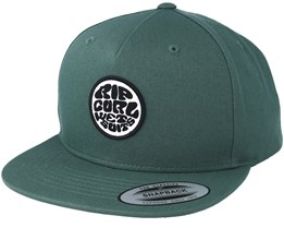 Rubber Soul Dusty Olive Snapback - Rip Curl