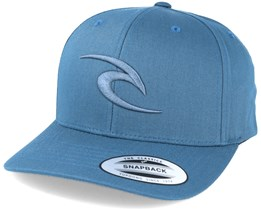 3D Icon Arona Blue Snapback - Rip Curl