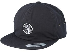 Roundhouse Black Strapback - Rip Curl