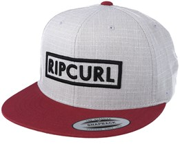 Undertow Box Twany Port Grey Snapback - Rip Curl