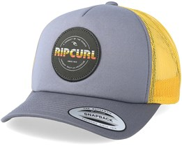 Labelled Flint Gray Trucker - Rip Curl